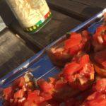 Bruchetta med tomat og Olivenoje