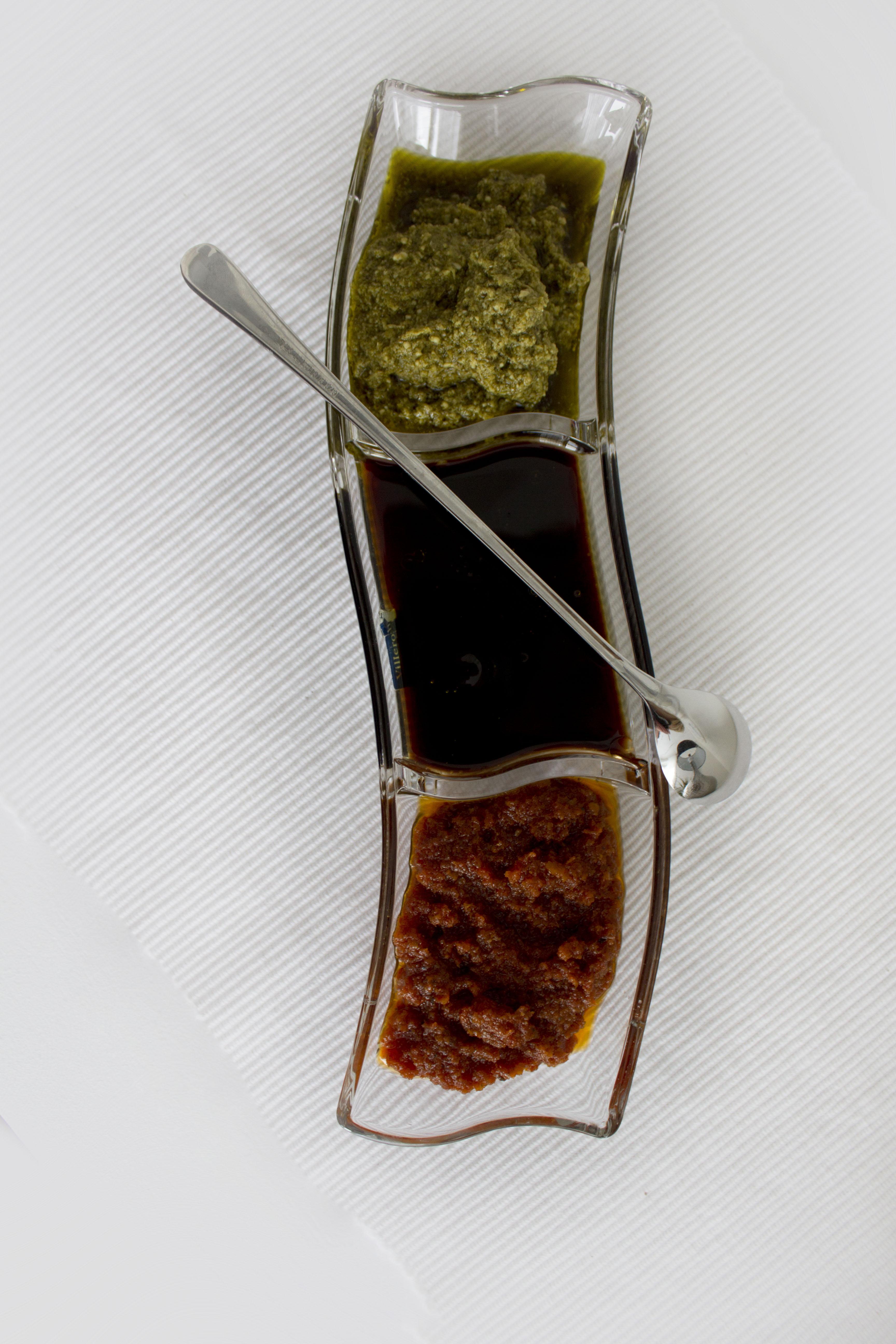 Rød & Grønn Pesto