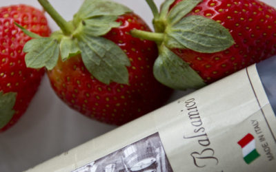 Jordbær med balsamico